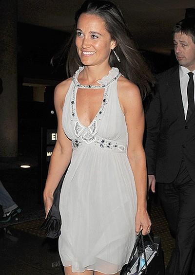 Pippa Middleton arrives at the Reuben Foundation Haiti Fundraiser, held at Altitude 360, London, England, May, 27, 2010. (Will Alexander/WENN.COM)