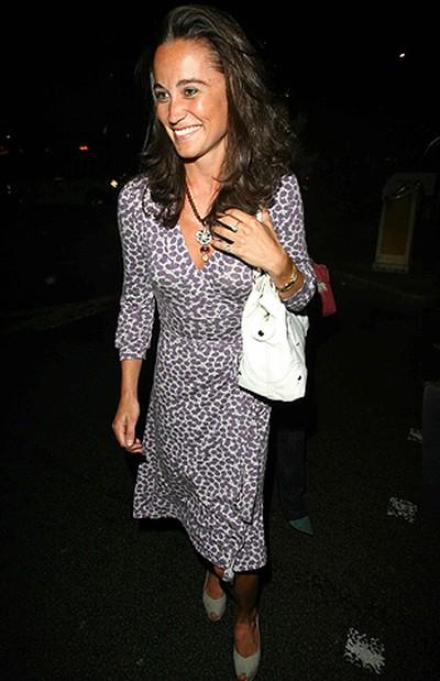 Pippa Middleton sister of Kate Middleton outside of Mahiki Club London, England. July 12, 2007. (Z. Tomaszewski/WENN.COM)