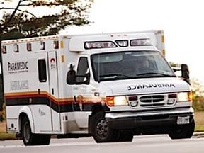 An Ottawa ambulance. (Errol McGihon / Ottawa Sun)
