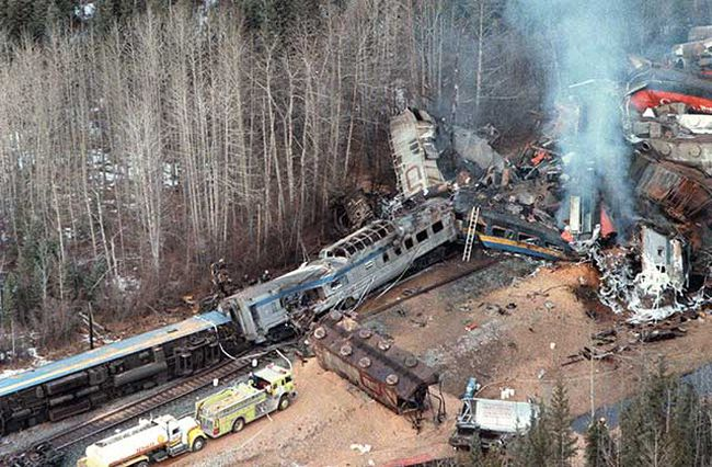 Lack Of Alertness Caused Hinton Train Crash Calgary
