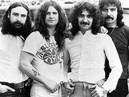 Black Sabbath (mid-1970s). Shown from left: Bill Ward, Ozzy Osbourne, Geezer Butler, Toni Iommi. (WENN.com Photo)