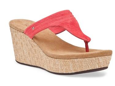 The UGG Zamora espadrille-inspired sandal, $145, uggaustralia.com
