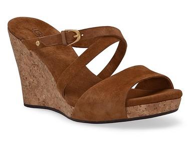 The UGG Jullita wedge sandal, $160, uggaustralia.com