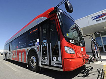 Brampton Transit will launch a new bus rapid transit service Monday called Zum. (Supplied photo)
