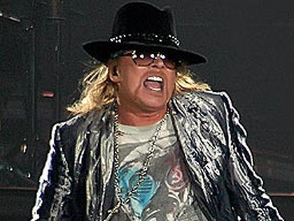 Guns N' Roses frontman Axl Rose. (WENN.COM file photo)