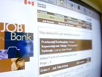 Canadian unemployment job bank photo
