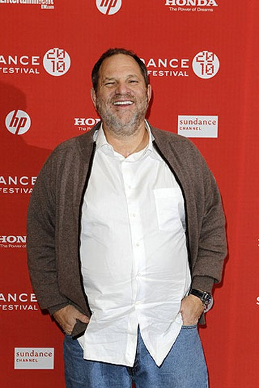 "Harvey Weinstein arrives for the premiere of the film ""Nowhere Boy"" during the 2010 Sundance Film Festival in Park City, Utah Jan. 27, 2010.  REUTERS/Lucas Jackson"