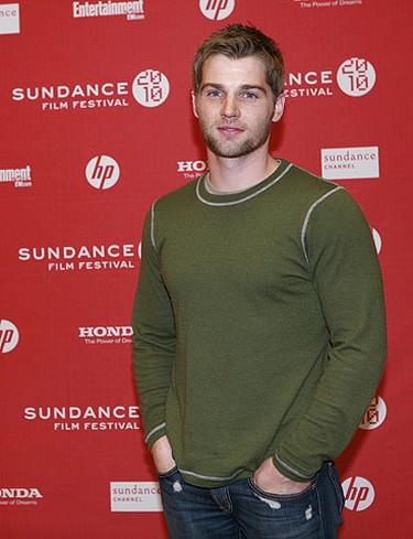 "Actor Mike Vogel arrives for the film ""Blue Valentine"" at the Sundance Film Festival in Park City, Utah Jan. 24, 2010. REUTERS/Robert Galbraith"