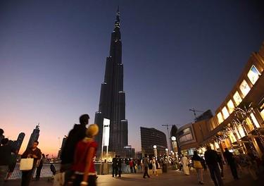 Photos of the Burj Khalifa, the world's tallest tower, in Dubai on Jan. 3, 2010. REUTERS)