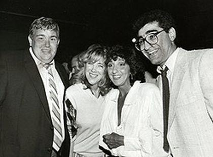 SCTV's John Candy, Catherine O' Hara, Andrea Martin and Eugene Levy, in a 1983 photo. (QMI Agency files)