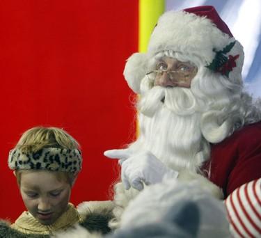 A sneak-peek at the 105th Toronto Santa Claus Parade, which takes place Sunday Nov. 15 at 12:30 p.m. (MICHAEL PEAKE/SUN MEDIA)