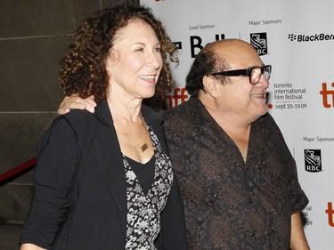 Rhea Perlman and Danny DeVito. (Jack Boland/QMI Agency file photo)