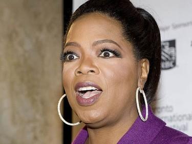 Oprah Winfrey attending a press conference for Precious during the Toronto International Film Festival, on Sept. 13, 2009. (ALEX UROSEVIC, Sun Media)