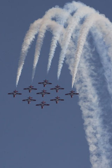 The 2009 Canadian International Air Show. (Dave Thomas/Sun Media)