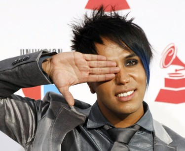 Singer Fedro arrives at the 10th annual Latin Grammy awards in Las Vegas, Nevada November 5, 2009.  REUTERS/Steve Marcus