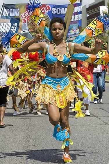Dancing up a storm during Junior Caribana on July 18, 2009. (DAVE THOMAS, Sun Media)