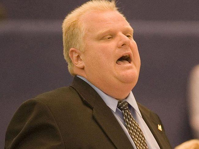 Mayor Rob Ford. (SUN MEDIA file)
