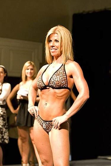 2009 CHIN bikini pageant contestant Mel at Exhibition Place. (SUN MEDIA/Stan Behal)