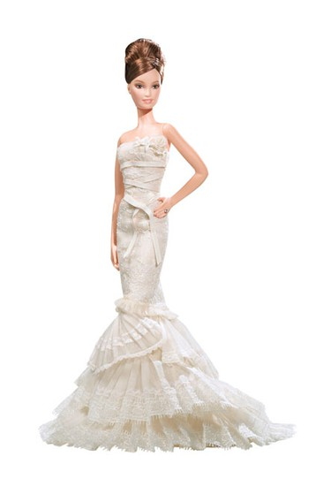 Vera Wang Romanticist Bride Barbie Doll (2008)