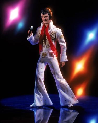 White Jumpsuit Elvis