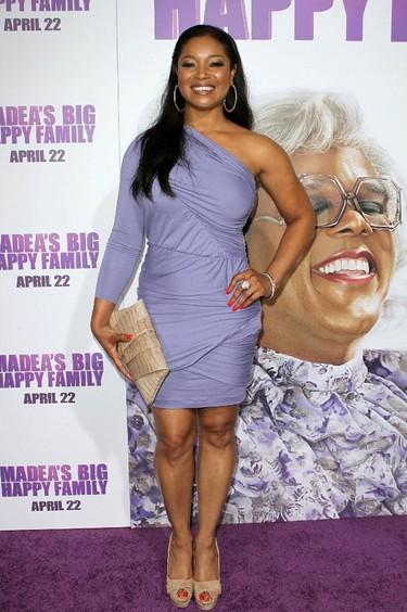 Tamala Jones Los Angeles Premiere of 'Tyler Perry's Madea's Big Happy Family' held At The Arclight Cinemas Hollywood, California (FayesVision/WENN.com)