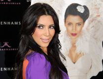 Kim Kardashian launches her self-titled new scent. (WENN.com)