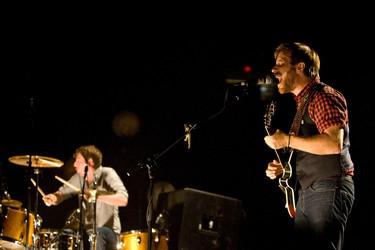 The Black Keys perform at Rexall Place in Edmonton, Alta., on Wednesday, June 29 2011. AMBER BRACKEN/EDMONTON SUN  QMI AGENCY