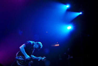 Dan Auerbach of The Black Keys performs at Rexall Place in Edmonton, Alta., on Wednesday, June 29 2011. AMBER BRACKEN/EDMONTON SUN  QMI AGENCY