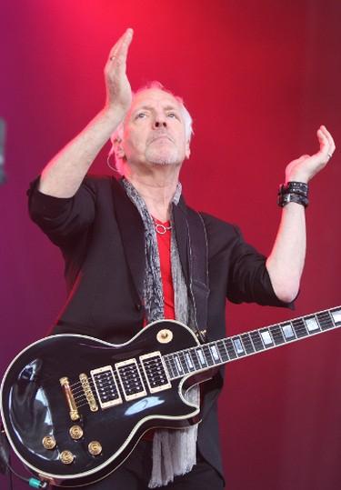 British rocker Peter Frampton played the Molson Canadian Amphitheatre  in Toronto on Saturday, July 9, 2011. Veronica Henri/QMI Agency)