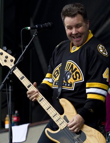 Ken Casey of the Dropkick Murphys performing at Ottawa Bluesfest. Sunday July 10,2011. (ERROL MCGIHON/THE OTTAWA SUN/QMI AGENCY)