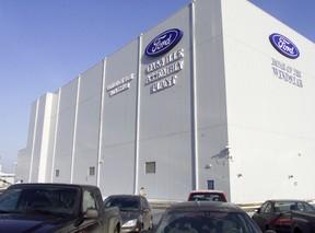 Oakville Ford Plant. (QMI Agency)