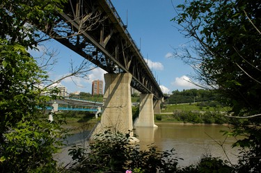 The High Level Bridge in a FILE PHOTO. (IAN KUCERAK/EDMONTON SUN)