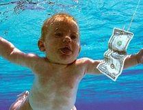 Nirvana's iconic Nevermind album cover. (file photo)