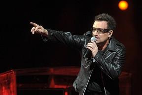 U2's Bono. (QMI Agency file photo)