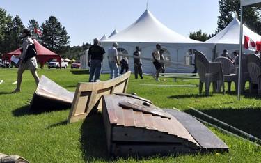 Photos: Heritage Festival setup_3