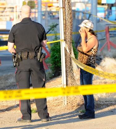 Police investigate a suspicious death Saturday, July 30, 2011 at the Boyle Street Community Centre at 10116- 105 Avenue in Edmonton, AB. PHOTO BY CANDICE WARD/EDMONTON SUN  QMI AGENCY