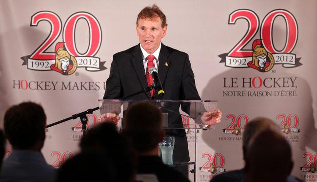 Cyril Leeder, Ottawa Senators president