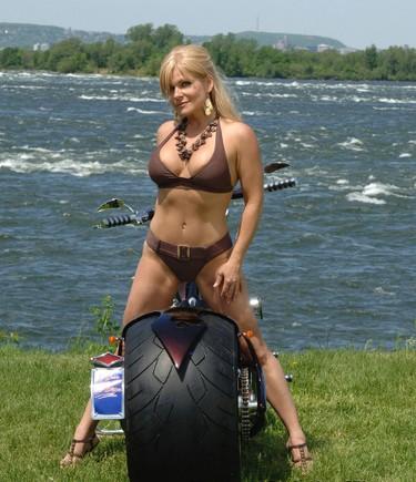 Marie-Jo, 46, is one of Mike Strobel's Moonlight Ladies All-Stars.