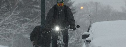 Calgary snow storm