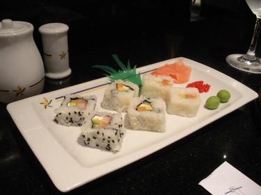 Enjoy fresh sushi at one of the Iberostar Grand Hotel Bavaro's a la carte restaurants. (Nicole Feenstra/QMI Agency)