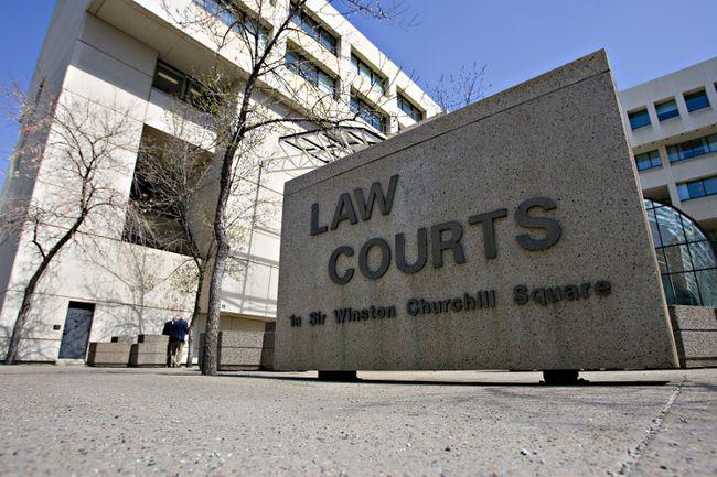 The Edmonton court house. (EDMONTON SUN FILE)