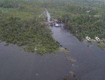 Flooded Lake St. Martin