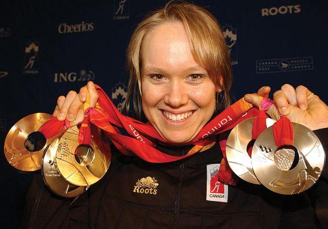 8. Cindy Klassen