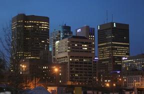 Winnipeg skyline
