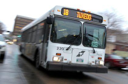 Winnipeg Transit bus filer
