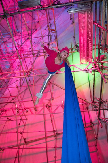 performed in the community centre at Metropolis in Churchill Square in Edmonton, Alberta, on Dec. 31, 2011. The winter festival kicked off on New Year's Eve. IAN KUCERAK/EDMONTON SUN/QMI AGENCY