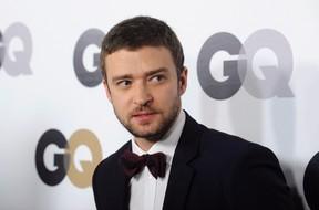 Justin Timberlake. REUTERS/Phil McCarten