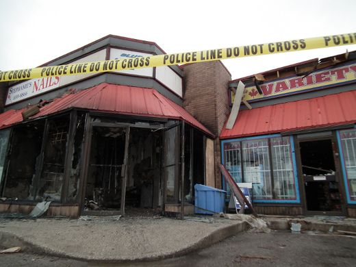 Massage parlours, strip club torched in London   Toronto Sun