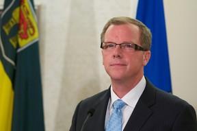 Saskatchewan Premier Brad Wall. (IAN KUCERAK/QMI AGENCY)
