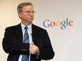 Google Chairman Eric Schmidt.  REUTERS/Jo Yong-Hak